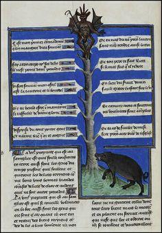 Henri de Ferrières, Les Livres du roy Modus et de la royne Ratio 109 by peacay, via Flickr
