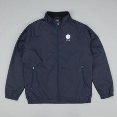 Polar Fill Logo Chest Running Jacket - Navy | Flatspot