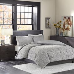 Add warmth and comfort to your bed with the Ultra Plush Comforter Set. The plush faux fur is incredibly soft and features a beautiful medallion design for added texture and dimension. The set includes 1 sham and is machine washable for easy care.