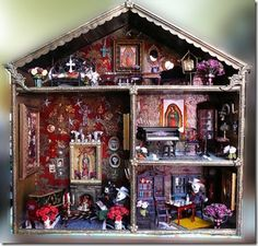 Day of the Dead Doll House.