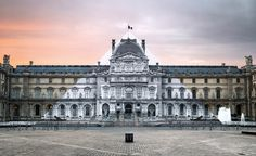 French artist JR's public art installation at Louvre | Wallpaper*