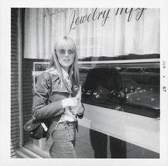 Nico on Sunset Strip, 1967.