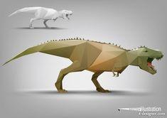 4-Designer | The facades body animal models 04 vector material