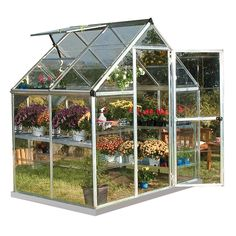 6-ft L x 4-ft W x 6.83-ft H Greenhouse at Lowes.com