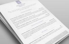 Elegant Resume Template - Premium line of Resume & Cover Letter Templates - #Resume, #ResumeTemplate_by ResumeWay