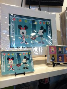 Modern Mouse - Jerrod Maruyama designs at the WonderGround Gallery. He'll be appearing at the Gallery on Saturday, July 20th from 5-7PM. Come see the new Hipster Mickey line of merchandise.