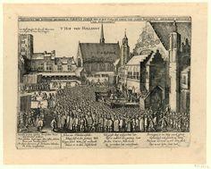 Abbildung der Iustitien Geschehen in s'Graven Haege den 13 May A.o 1619 an Iohan von Olden Barnefelt gewesener Advocaat van Hollandt.