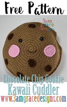 Free crochet patterns, free amigurumi patterns, and free Corner-To-Corner afghan crochet-a-longs! Home of the Kawaii Cuddler. Kawaii Crochet, Crochet Food, Love Crochet, Crochet Gifts, Crochet For Kids, Diy Crochet, Crochet Baby, Crochet Cupcake, Crochet Toddler
