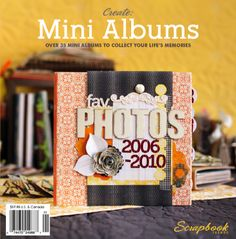 Create: Mini Albums Winter 2011 | Northridge Publishing