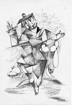 cubist-man-2-padamvir-singh.jpg (613×900)