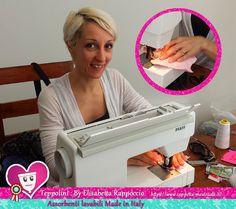 Our Teppolini cloth pads hand made by Elisabetta Rappoccio. Stictch Eli, they are wonderful! https://www.coppetta-mestruale.it/assorbenti_donna_teppolini.php