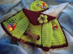Discover thousands of images about Crochet Jacket Lots Of Gorgeous Free Patterns Crochet Baby Jacket, Crochet Baby Sweaters, Crochet Coat, Crochet Baby Clothes, Crochet Toddler, Crochet Girls, Crochet For Kids, Knitting For Kids, Baby Knitting Patterns