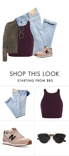 """Street Style"" by rob-17 ❤ liked on Polyvore featuring Elizabeth and James, New Balance, Christian Dior and Rick Owens"