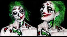 Zombie Joker Makeup Tutorial | 31 Days of Halloween