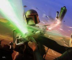 Star Wars LCG: Counterstrike by Thaldir. #StarWars #Art #gosstudio .★ We recommend Gift Shop: http://www.zazzle.com/vintagestylestudio ★