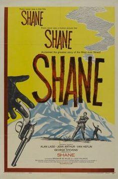 Shane (1953) movie #poster, #tshirt, #mousepad, #movieposters2