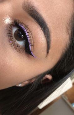 Indie Makeup, Edgy Makeup, Makeup Eye Looks, Eye Makeup Art, Cute Makeup, Pretty Makeup, Simple Makeup, Skin Makeup, Eyeshadow Makeup