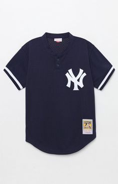 Mitchell and Ness Yankees Baseball Jersey. Yankees LogoNew York ... 848e719d0