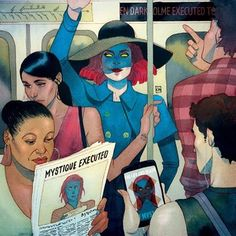 Find images and videos about Marvel, x-men and mystique on We Heart It - the app to get lost in what you love. Marvel Comics, Arte Dc Comics, Hq Marvel, Marvel Heroes, Comic Book Characters, Comic Books Art, Comic Art, X Men Hq, Kevin Wada