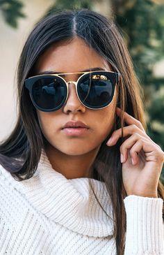23b4b96177f2 Brooklyn Sunglasses - Black Smoke