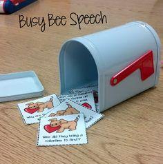 Busy Bee Speech: Preschool Biscuit Book activities