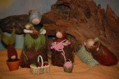 Die Wollwerkerin - Phantasieanregendes aus Märchenwolle - Der Jahreszeitentisch