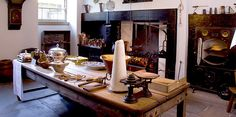 A fully furnished 18th Century Kitchen NTS