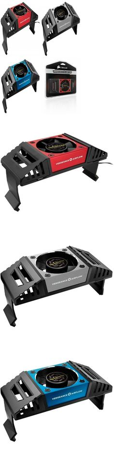 Vengeance Airflow Memory Cooling Fan CMYAF Included Speed Control Cable