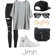 Jimin Inspired w/ Converse