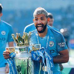 """You didn't think we were gonna let you go that easy, did you? Manchester City Wallpaper, Kun Aguero, Premier League Champions, Soccer Stars, Watford, Tottenham Hotspur, Blue Moon, Neymar, Chelsea"