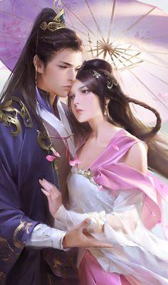 Anime Love Couple, Couple Art, Boy Art, Art Girl, Anime Fantasy, Fantasy Art, Manga Art, Anime Art, Japanese Couple