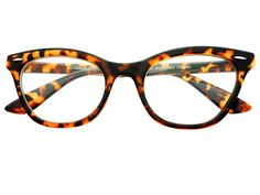 Clear Lens Retro Cat Eye Glasses Frames Tortoise W402 – FREYRS - Sunglasses at Affordable Prices