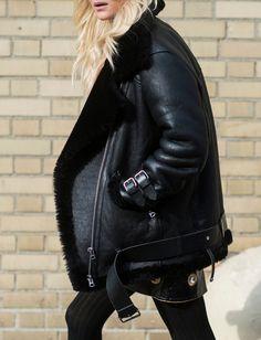 Le parfait total look noir #222