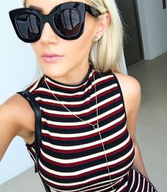 With over 200 models in stock, Snglasses has something good to offer for every style and taste, eyewear at an incredible price + FREE delivery worldwide Girl With Sunglasses, Stylish Sunglasses, Sunglasses Women, Sunnies, Fashion Eye Glasses, Star Fashion, Fashion Men, Marc Jacobs, Pinterest Fashion