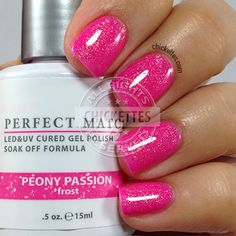 LeChat Perfect Match Peony Passion - Spring 2015 - swatch by Chickettes.com