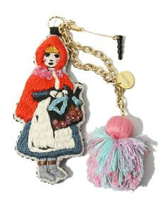 3 Other | story of charm tamao (Tamao) (Alice / Little Red Riding Hood) (Key Chains)