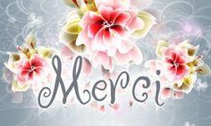 Dites MERCI avec des fleurs