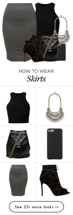 """Tight skirt means more ass!"" by jullianaisabel on Polyvore"
