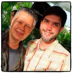 Al final del día, con Roberto, riendo un poco, relajados y satisfechos! #JoyeriaDeAutor #MakingOf