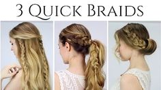 pull through hairstyle - YouTube