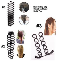 2.75$  Buy now - http://vifdl.justgood.pw/vig/item.php?t=6jvh1v28715 - rendy Women Hair DIY Tool French Braiding Tool Braided Hair Accessories condition : new