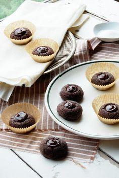 cocoa drops with chocolate and manuka honey vanilla bean ganache