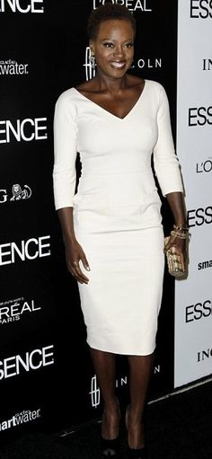 Viola Davis with her beautiful natural hair. She stays winning and slaying.