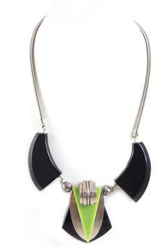 Jacob Bengel Art Deco Necklace