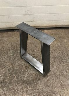 Bench Legs Trapezoid Legs Trapezoid Bench Legs Coffee Table Legs Table Leg Trapezoid Table Legs Set of 2 Coffee Table Legs, Metal Table Legs, Metal Dining Table, Steel Table, Metal Furniture, Diy Furniture, Handmade Ottomans, Bench Legs, Live Edge Table