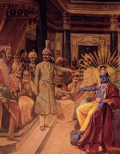 By Arcana-Siddhi devi dasi Krishna, the Supreme Lord, met with both Maharaja Yudhisthira, a pure devotee of the Lord, and Duryodhana, an extremely envious king who had acquired his position through…