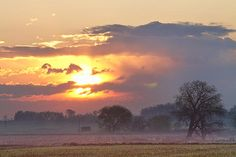 Boulder County Colorado early misty light fog in the country before it burns off with a beautiful colorful sunrise. Fine art photography prints, decorative canvas prints, acrylic prints, metal Prints wall art  for sale on FineArtAmerica.com. Prints starting at $25. Copyright: James Bo Insogna