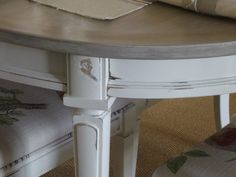 Vintage French Country Dining Table and Chairs by MeAndPhoebe, $1200.00