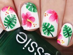 Want some easy nail designs to do at home and stop spending money at nail salons? We will show you how to create them in three steps.