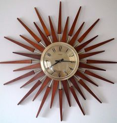 Anstey and Wislon Starburst Clock